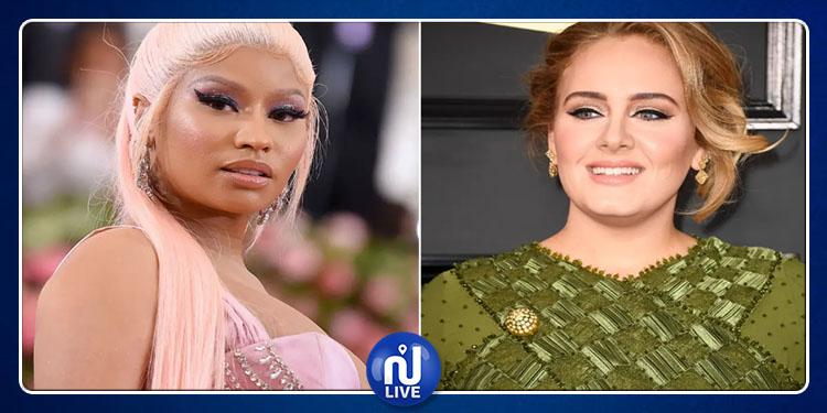 Nicki Minaj et Adele ont collaboré pour une chanson