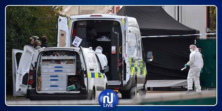 Londres : 39 corps retrouvés dans un conteneur de camion