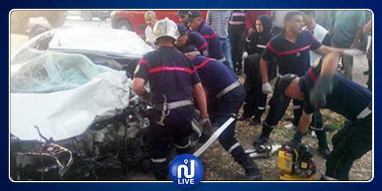 Gabès : 2 morts dans un accident de la route