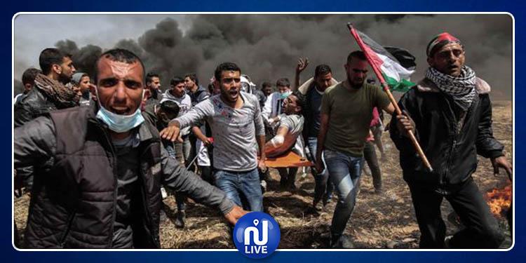 Palestine : 96 blessés lors de la «Marche du retour» à la frontière de Gaza