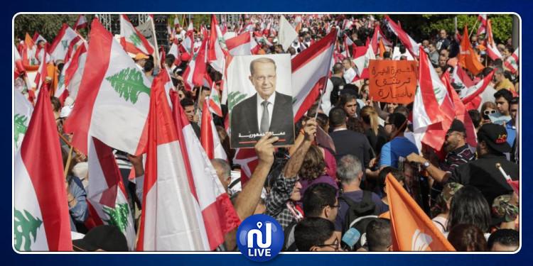 Liban: Les manifestations se poursuivent autour du palais présidentiel