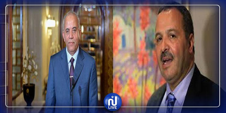 Habib Jemli s'entretient avec le dirigeant d'Ennahdha Abdellatif Mekki