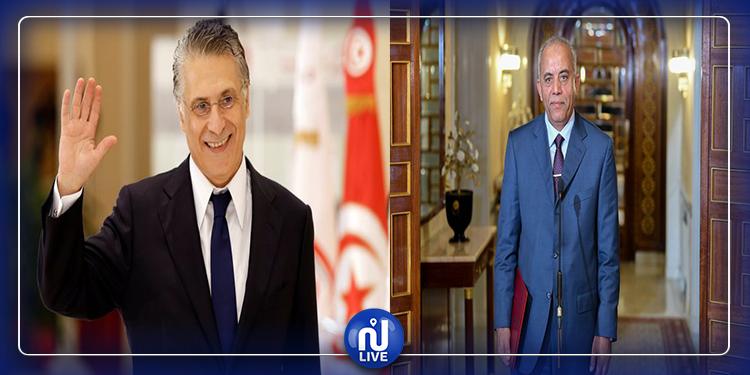 Le chef du gouvernement désigné reçoit Nabil Karoui