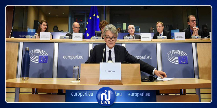 Les députés valident la candidature de Thierry Breton à la Commission européenne