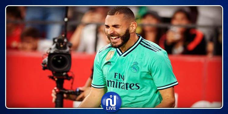 Liga : Un nouveau record pour Karim Benzema !