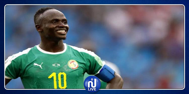 Sénégal : Sadio Mané élu meilleur joueur sénégalais
