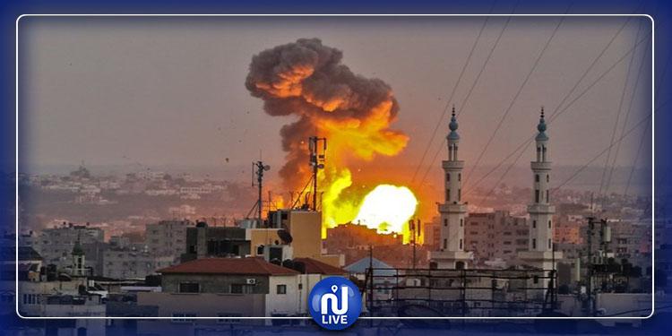 Des bombardements israéliens sur Gaza