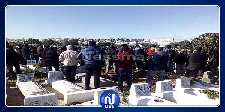 Aujourd'hui,  obsèques de Adam Boulifa au Jellaz (vidéo)