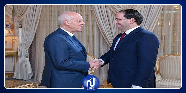 Kais Saied charge Youssef Chahed de gérer les affaires courantes du gouvernement