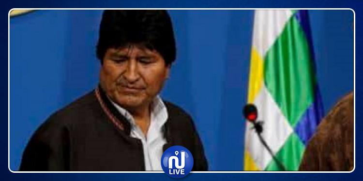 Arrivée au Mexique du président Bolivien démissionnaire