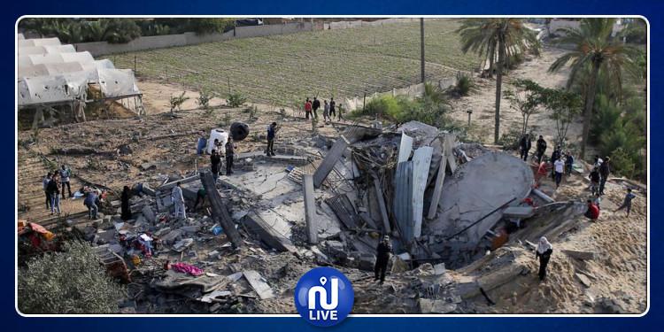 Gaza : Nouvelles frappes israéliennes après des tirs de roquettes