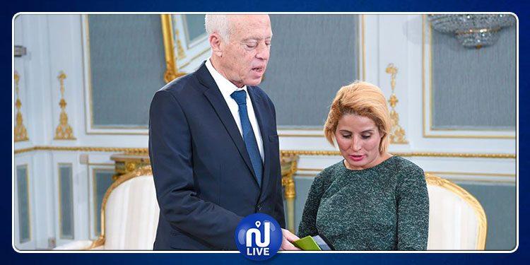Kaïs Saïed reçoit une délégation de la société civile