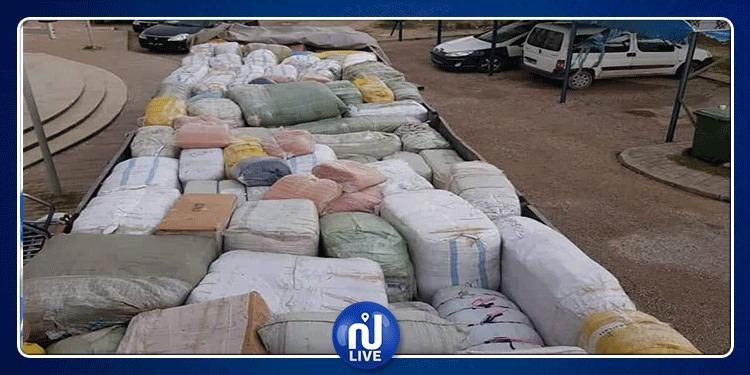 Zaghouan : la garde nationale déjoue une opération de contrebande de prêt-à-porter