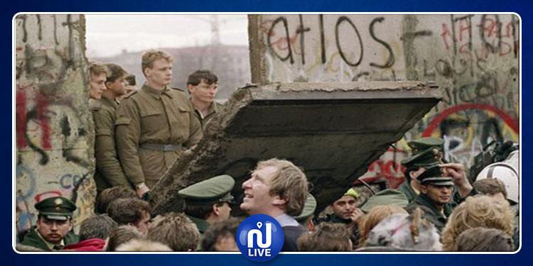 Il y a 30 ans… le mur de Berlin tombait... (photo)