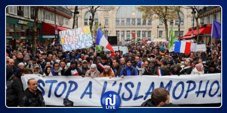13 500 manifestants contre l'islamophobie à Paris (Photos)
