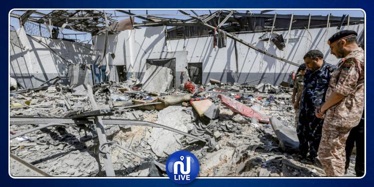 7 morts et 30 blessés dans un raid aérien à Tripoli