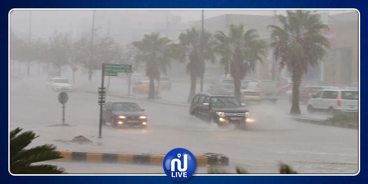 Pluies : la police de la circulation appelle les automobilistes à la vigilance