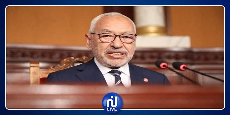 Ghannouchi appelle à interdire le tourisme parlementaire