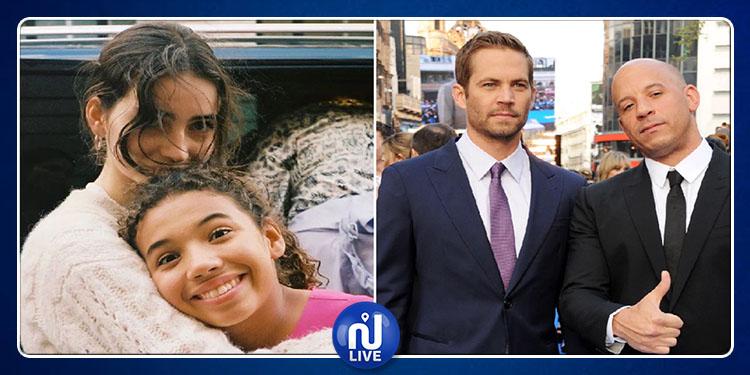 Vin Diesel rend hommage à la fille de son ami Paul Walker