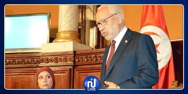 Rached Ghannouchi élu président de l'ARP