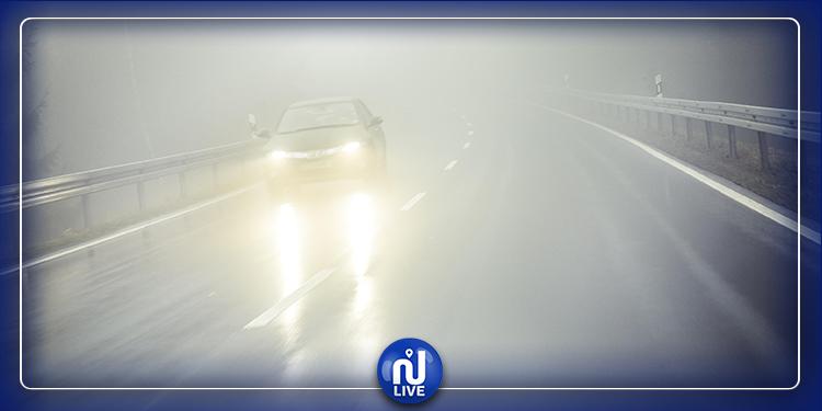 Épais brouillard sur l'A3 : les automobilistes appelés à la vigilance