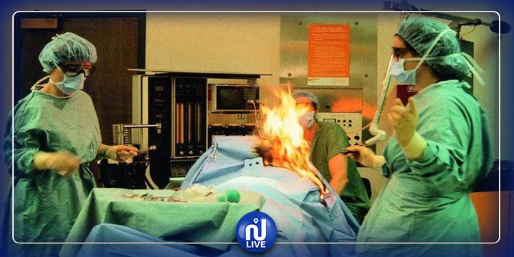 Roumanie : une patiente, brûlée vive lors d'une opération