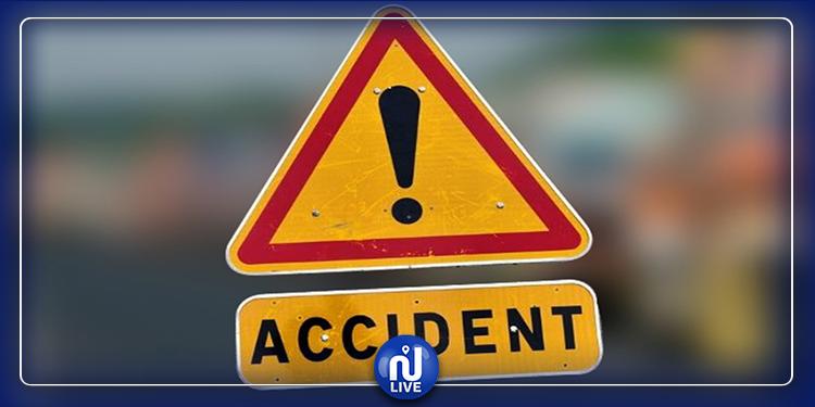 Béja-Tunis :2  morts et 8 blessés dans un accident