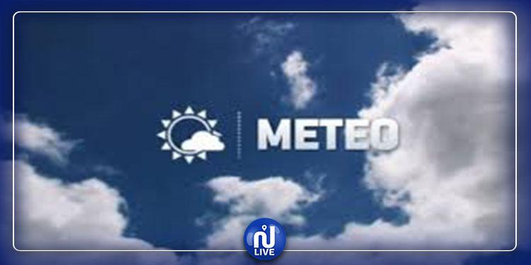 Prévisions météo pour ce samedi 07 décembre 2019