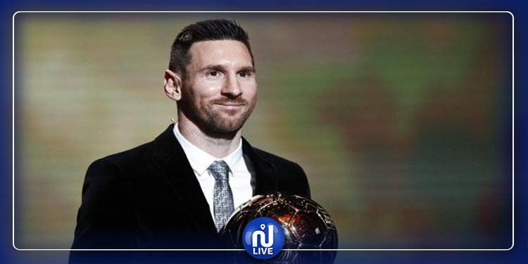 Messi remporte le Ballon d'Or France Football 2019