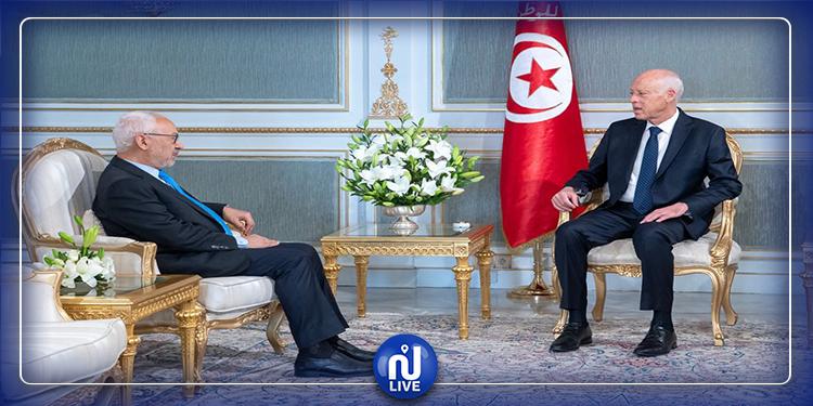 Drame à Amdoun : Kais Saïed s'entretient avec Rached Ghannouchi