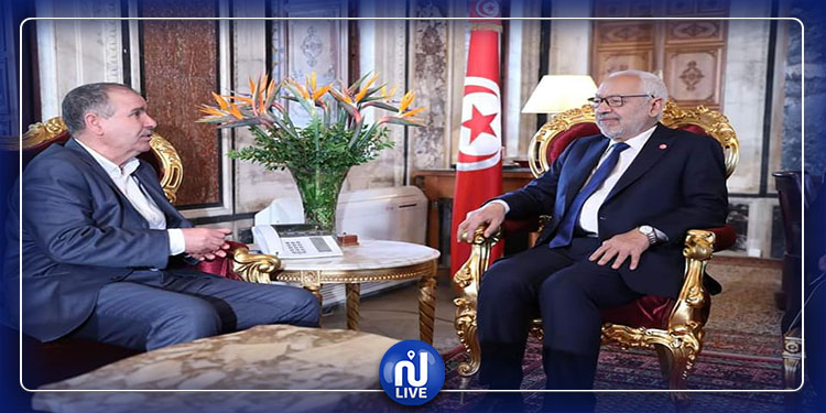 Le président de l'ARP reçoit Noureddine Taboubi