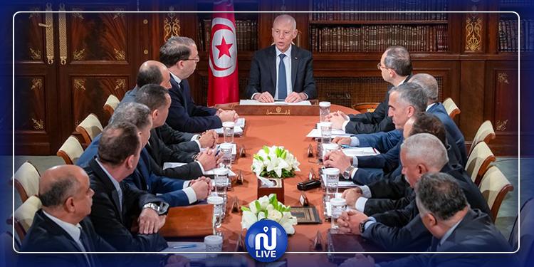 Le président de la République préside une réunion sécuritaire de haut niveau