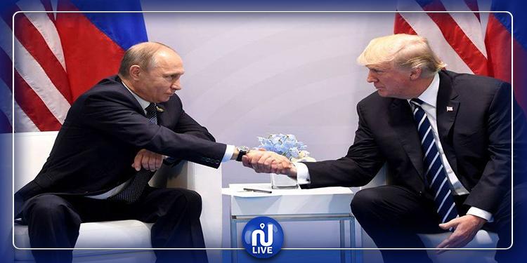 Les vœux de Poutine adressés à Trump