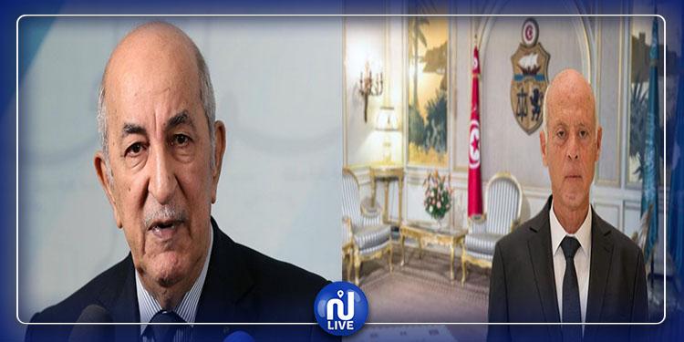 Kais Said félicite le nouveau président algérien élu Abdelmadjid Tebboune
