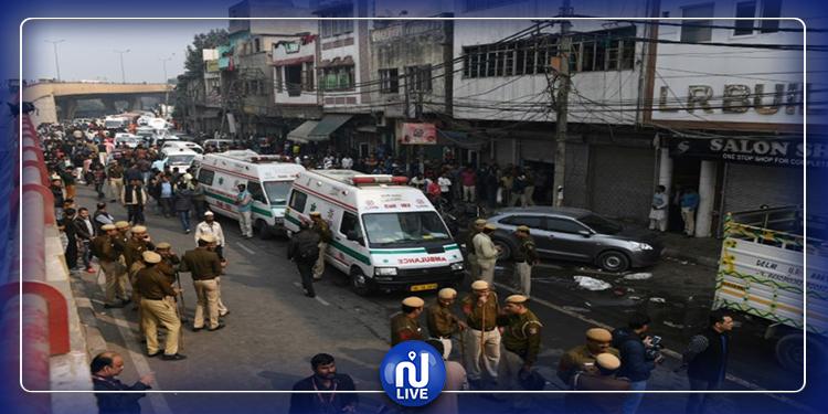 Inde : au moins 43 morts dans l'incendie d'une usine