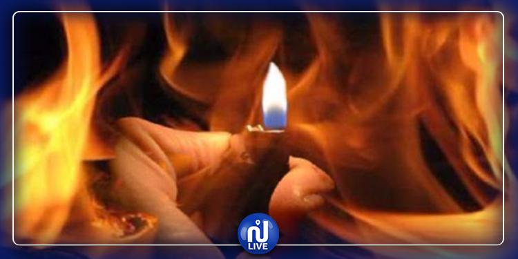 Un jeune s'immole par le feu à Hafouz