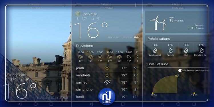 Découvrez les 10 meilleures applications météo pour Android