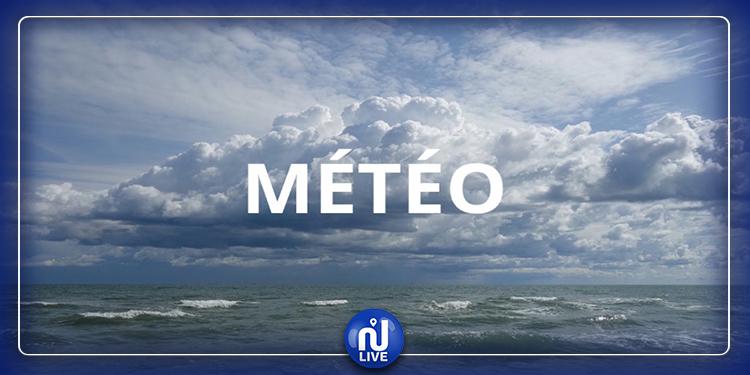 Prévisions météo pour Mardi 21 Janvier 2020