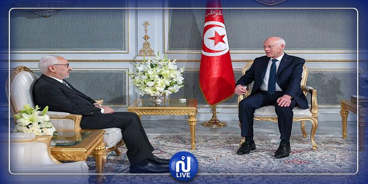 Kaïs Saïed s'entretient avec Rached Ghannouchi