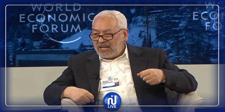 Davos : Ghannouchi ne se rendra pas au Forum économique mondial