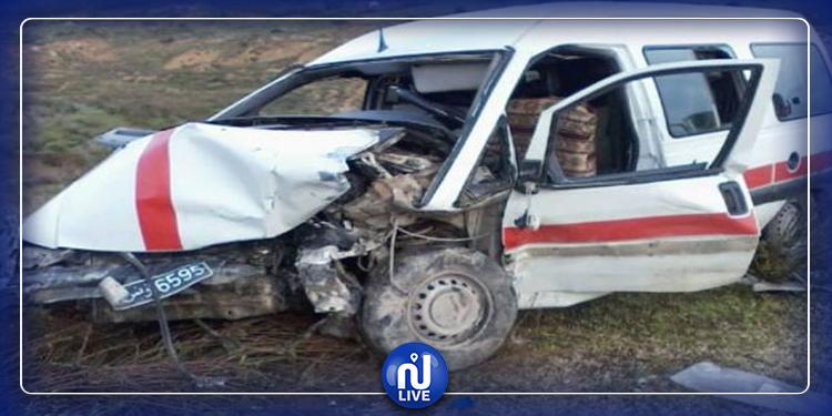 Sousse : 13 blessés dans un accident de la route