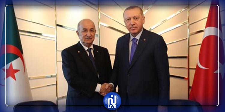 Recep Tayyip Erdogan en visite à Alger