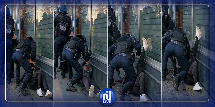 France : un manifestant frappé… le policier porte plainte