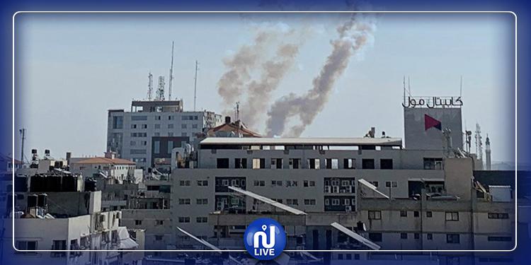 Bombardement israélien sur le nord de la Bande de Gaza