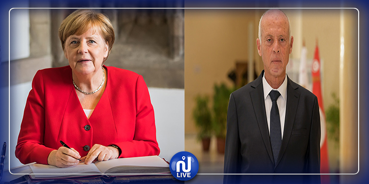 Libye/Conférence de Berlin : Kaïs Saïed refuse l'invitation d'Angela Merkel