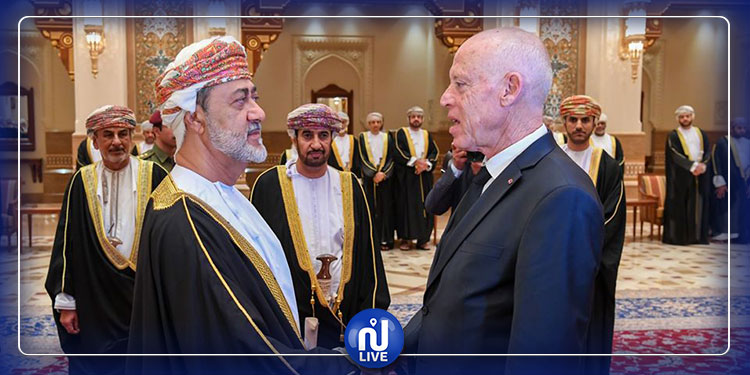Kaïs Saïed à Oman pour présenter ses condoléances