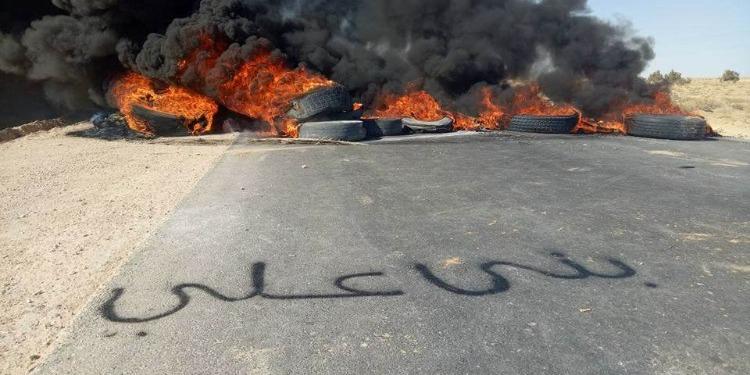 نفطة: الطريق الرابط بين معتمدتي حزوة ونفطة يعود إلى سالف نشاطه (صور)