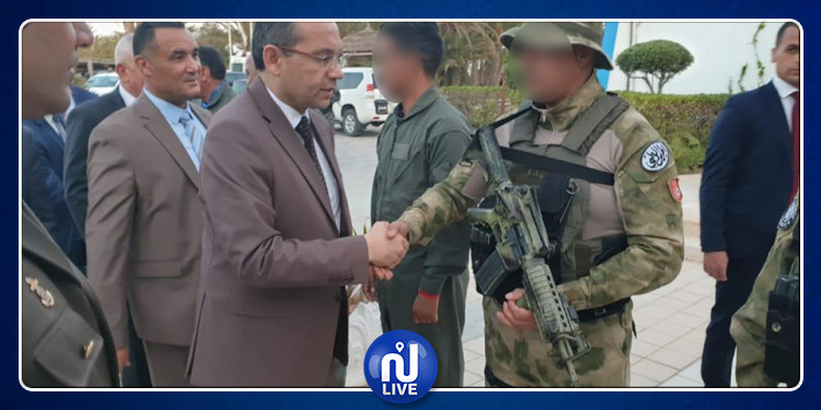 وزير الداخلية يتفقد آخر الإستعدادات الأمنية المتعلقة بزيارة معبد الغريبة بجربة