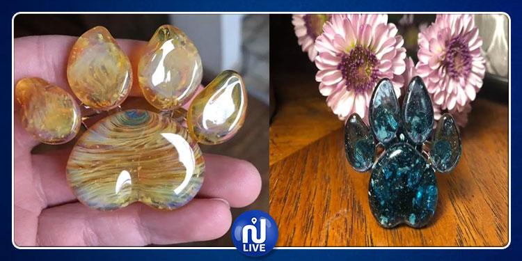 شركة تحول رماد الحيوانات الأليفة إلى تحف زجاجية (صور)