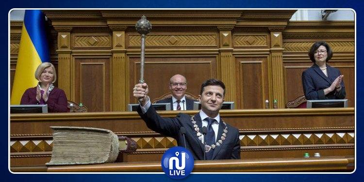 Investi président, Zelensky annonce des législatives anticipées